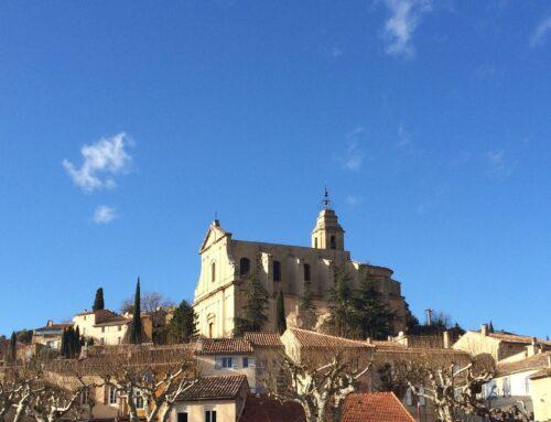 Bédoin, ein Dorf in der Provence