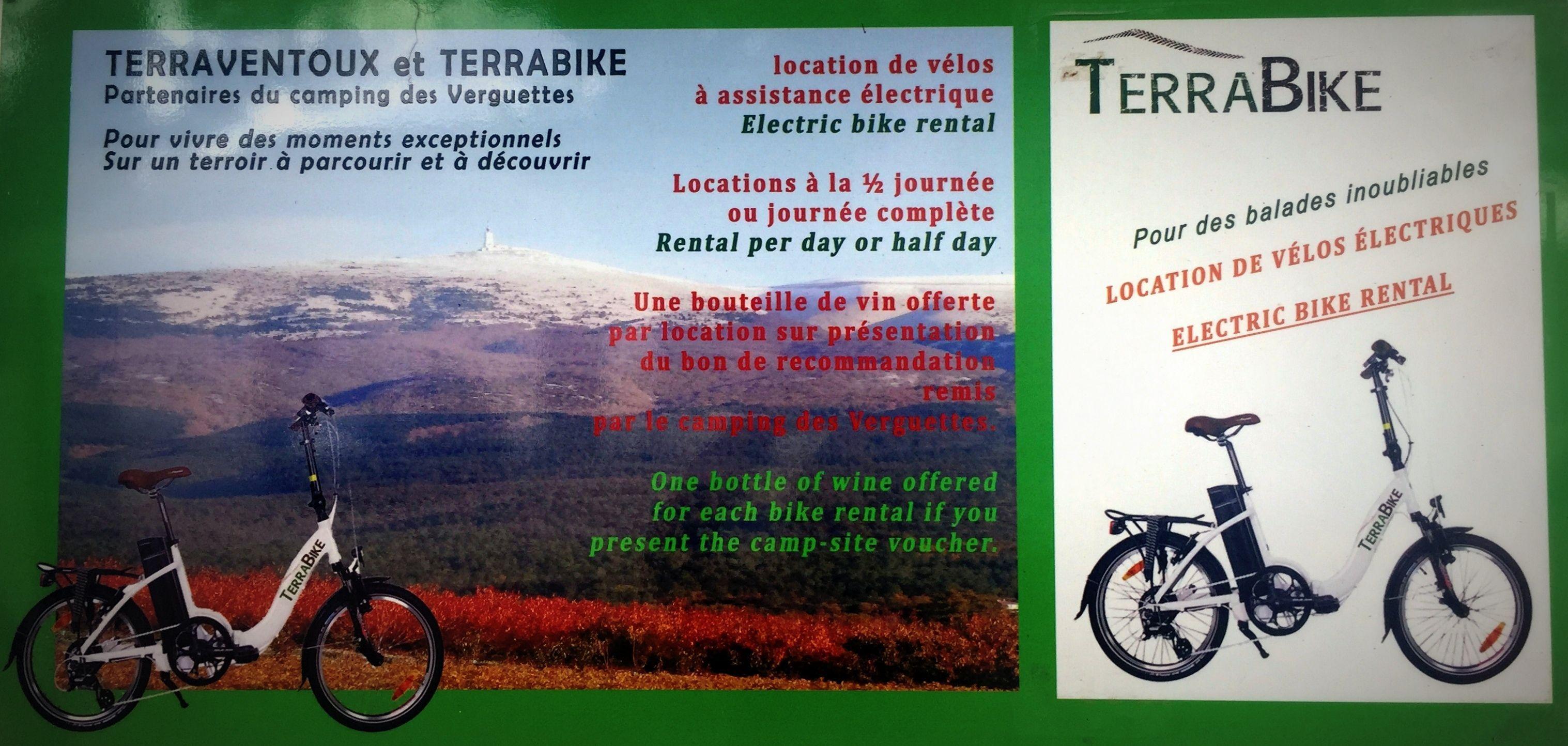 Vélos électriques Terraventoux
