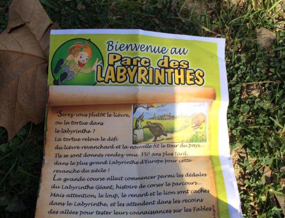 Le Parc des Labyrinthes pour les enfants
