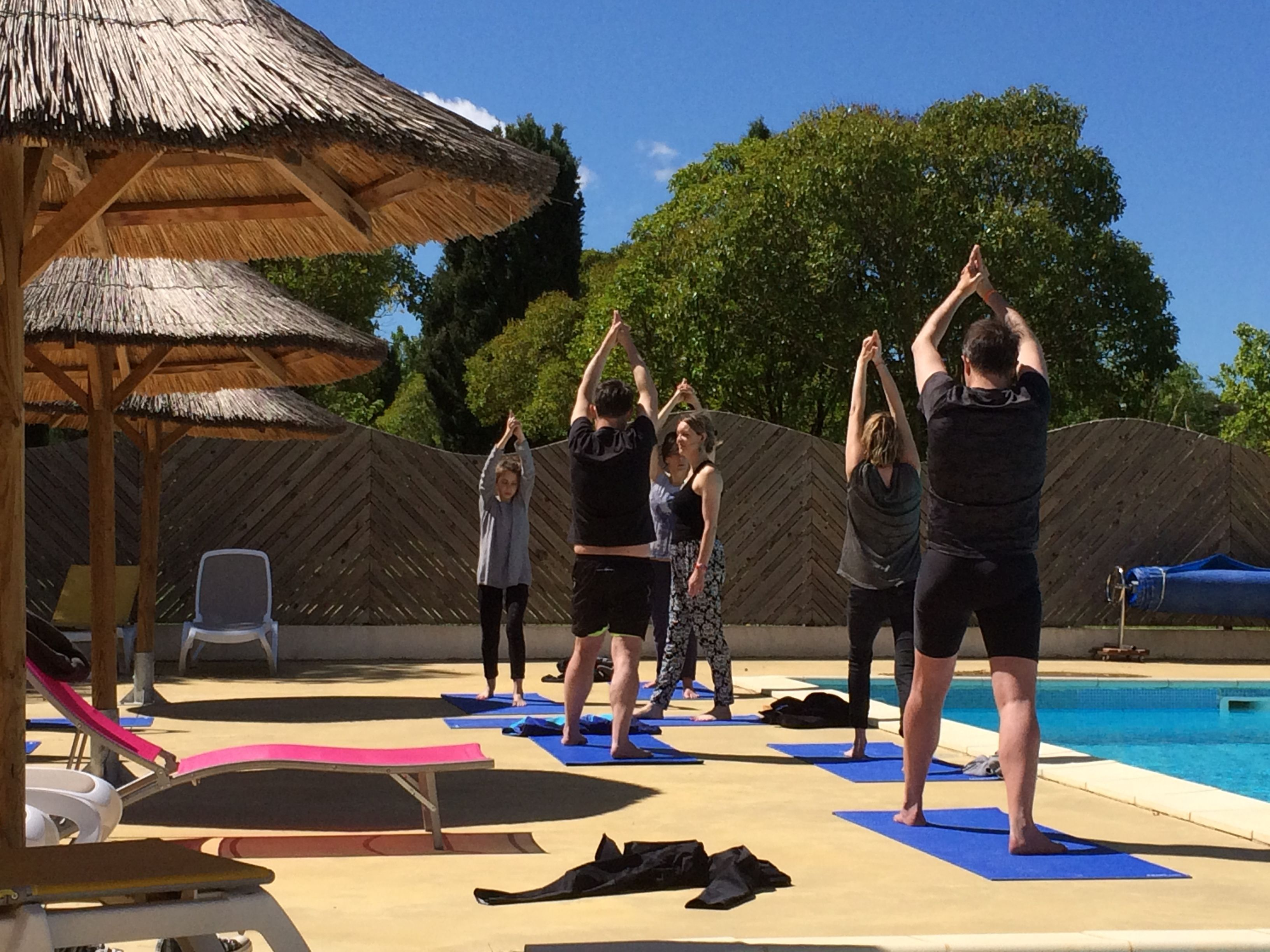 Yoga at Les Verguettes