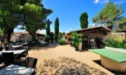 Camping Les Verguettes - Terrasse du Restaurant