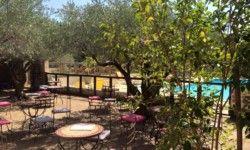 Camping Les Verguettes - Terrasse du bar