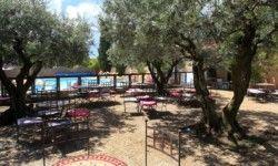 Camping Les Verguettes - Terrasse Bar