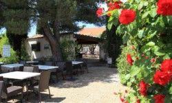 Camping Les Verguettes - Terrasse Restaurant