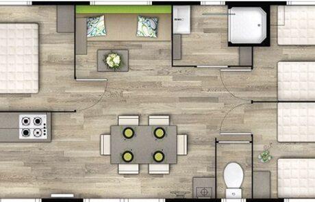 Mobil-home Bahia - Plan