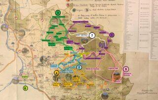 Carte Vaucluse Parcours