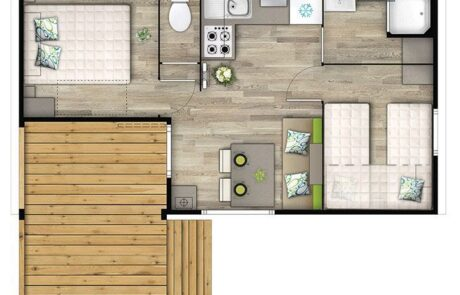 Mobil-home Malaga - Plan