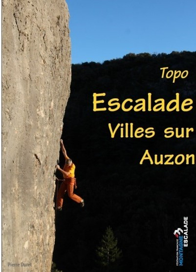 Topo Escalade Villes sur Auzon